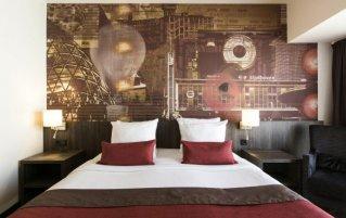 Tweepersoonskamer van Hotel Crown Centre in Eindhoven