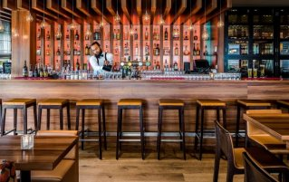 Bar van Hotel holidayinn eindhoven