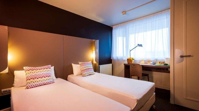 Tweepersoonskamer van Hotel Campanile Eindhoven