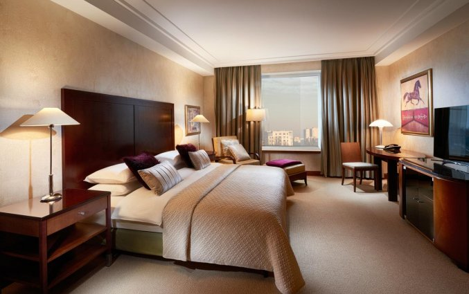 Tweepersoonskamer van Hotel Regent in Warschau