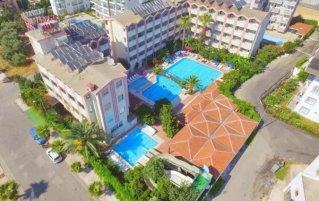 Uitzicht op Hotel Gazipasa Star in Side