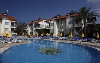 Zwembad van Hotel Sunlight Garden in Side