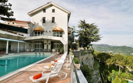 Uitzicht vanuit Hotel Scapolatiello in Amalfi