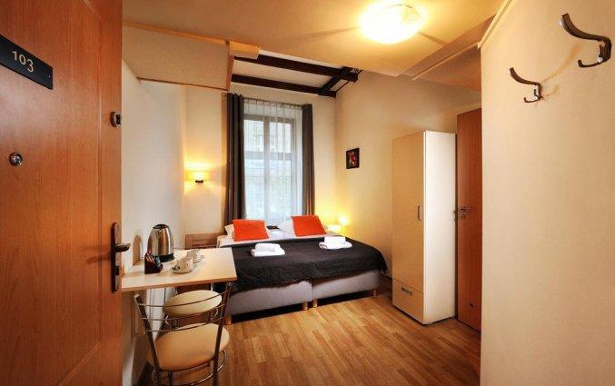 Tweepersoonskamer van Aparthotel Siesta Krakau