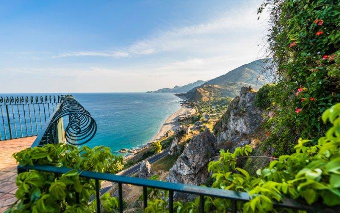 Sicilie - Uitzicht op zee