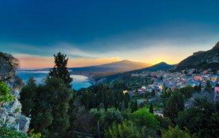 Sicilië - Uitzicht op Etna