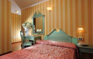 Tweepersoonskamer van hotel Tinoretto