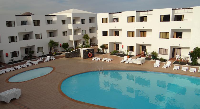 Buitanaanzicht van Appartementen Lanzarote Paradise