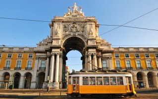 Lissabon - Gele tram
