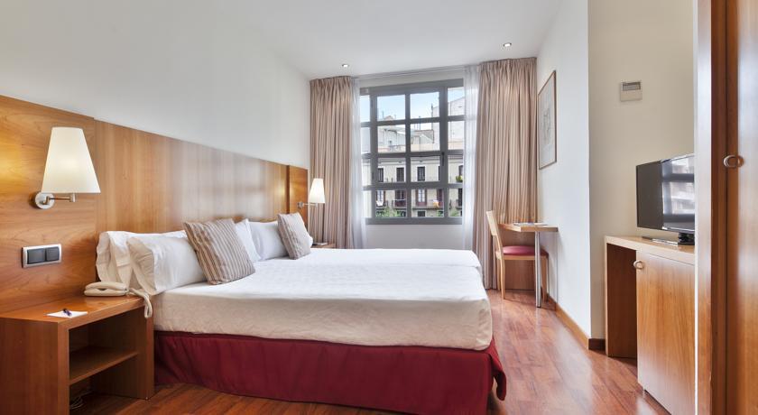 Tweepersoonskamer van Hotel Aranea in Barcelona
