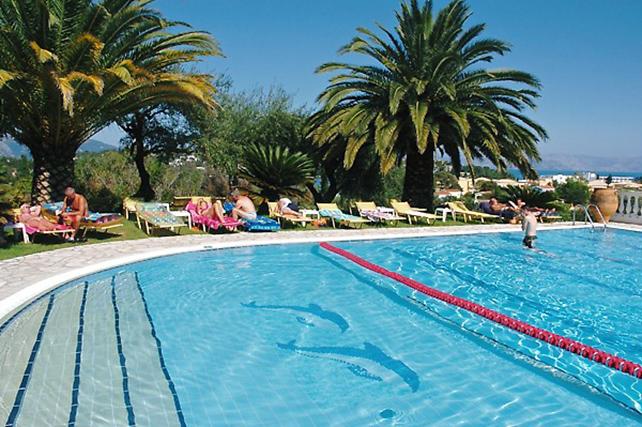 Korting Zon, zee en strand op Corfu Hotel Gouvia
