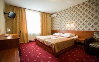 Tweepersoonskamer van Hotel Maksymilian in Krakau