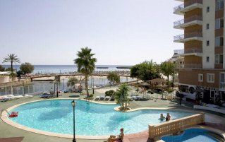 Zwembad van Appartementen Playa Moreia op Mallorca