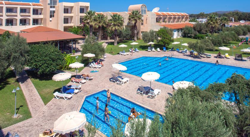 Korting All inclusive vakantie Rhodos Hotel Kolymbia