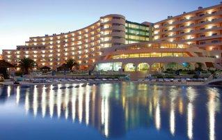 Buitenzwembad van Appartementen Paraiso Albufeira in Algarve