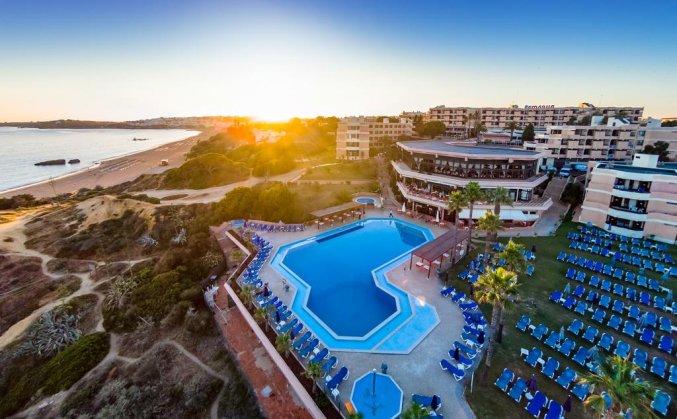 Uitzicht op Resort Auramar Beach in Algarve