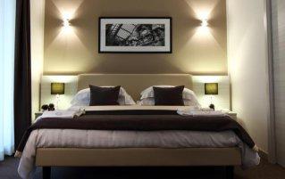 Tweepersoonskamer van Hotel Stelle in Napels