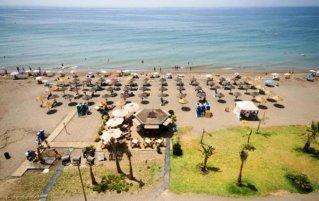 Strand bij hotel Rincon Sol aan de Costa del Sol
