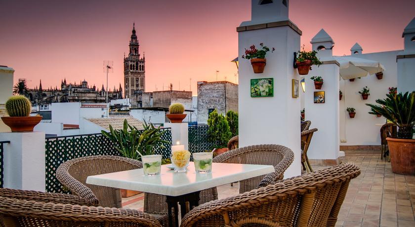 Korting Stedentrip sfeervol Sevilla Hotel Santa Cruz