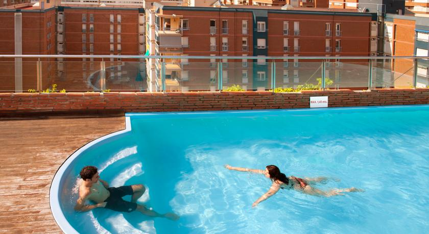 Korting Les Corts Zonnige stedentrip Barcelona Hotel