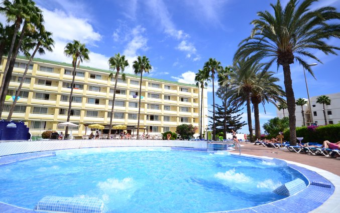 Buitenzwembad van Appartementen Playa del Sol op Gran Canaria