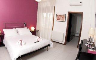 Slaapkamer hotel Zenit in Puglia