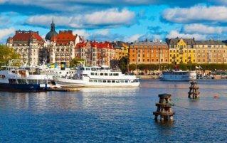 Stockholm - Stad overzicht water
