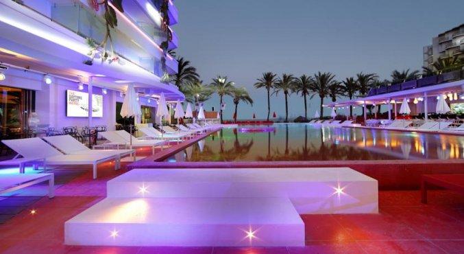Wereldberoemd hotel op Ibiza