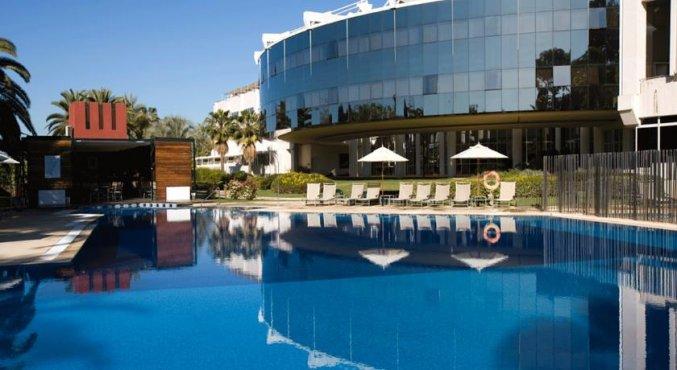 Korting Stedentrip sfeervol Sevilla Hotel Bellavista Palmera