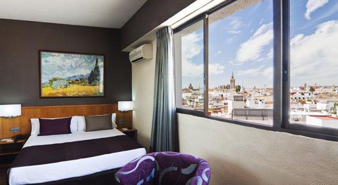 Prachtig uitzicht over de Spaanse stad Sevilla