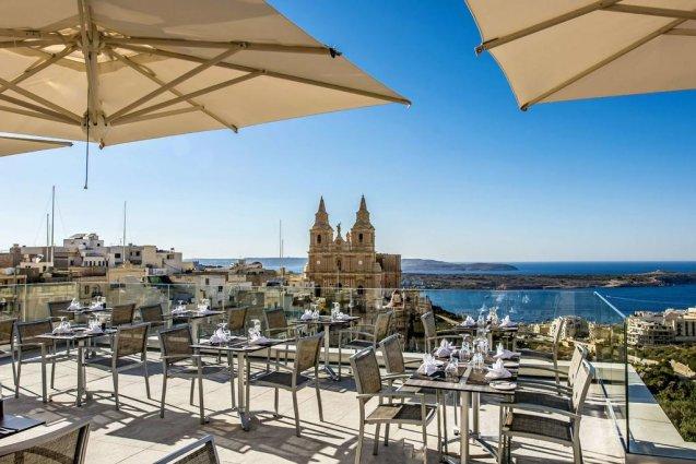 Korting Luxe vakantie Malta Hotel Mellie a