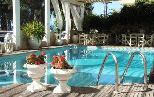 Zwembad van Hotel en Spa Secret Paradise op Chalkidiki