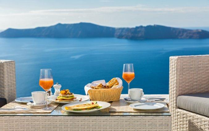 Ontbijt met uitzicht