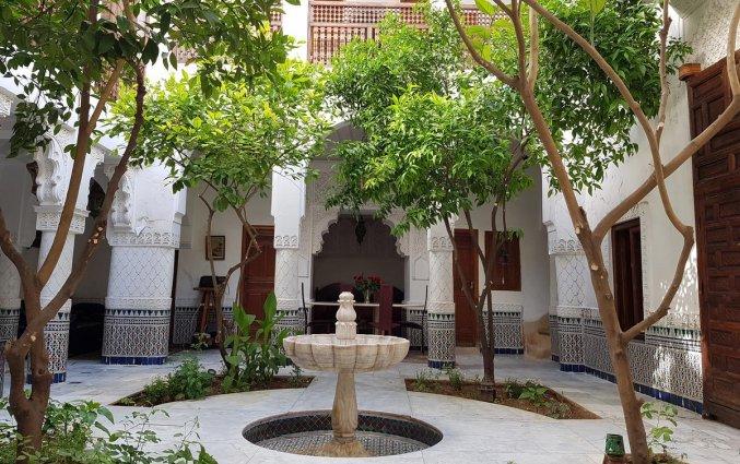 Ga voordelig naar Marrakech! Riad