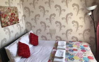 Tweepersoonskamer van Guest House Pilrig in Edinburgh