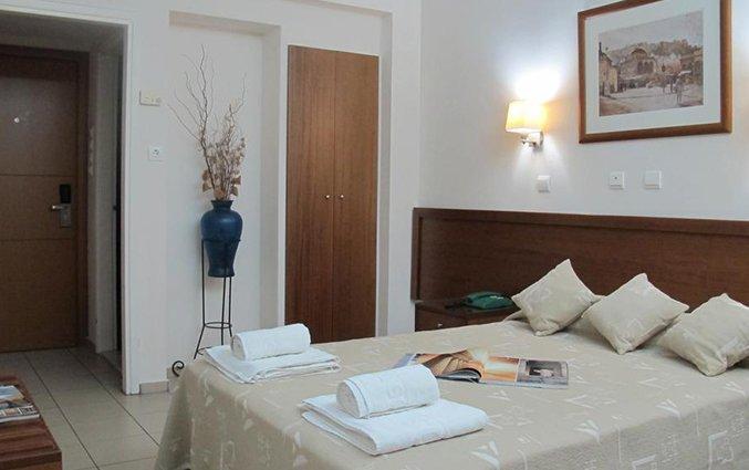 Tweepersoonskamer van Hotel Solomou in Athene