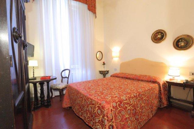 Tweepersoonskamer van Hotel Annalena in Florence