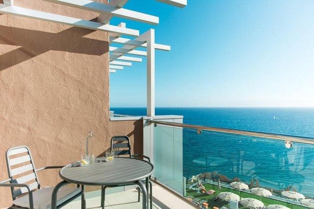 Uitzicht vanaf Hotel Riviera Vista op Gran Canaria
