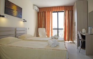 Tweepersoonskamer van Relax Inn Malta