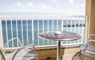 Terras van Hotel Diamar op Lanzarote