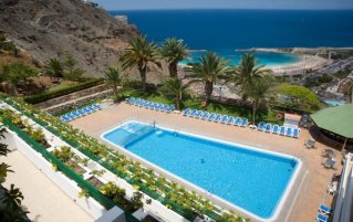 Buitenzwembad van Appartementen Palmera Marop Gran Canaria