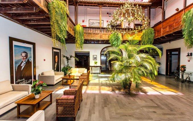 Binnenplaats van Hotel Marquesa op Tenerife