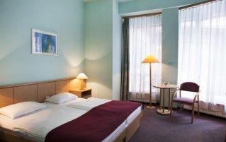 Tweepersoonskamer van Hotel Pilvax in Budapest