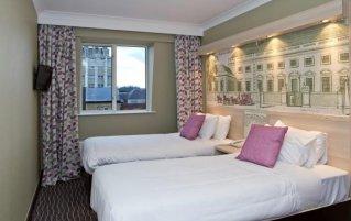 Tweepersoonskamer van Hotel President in Londen