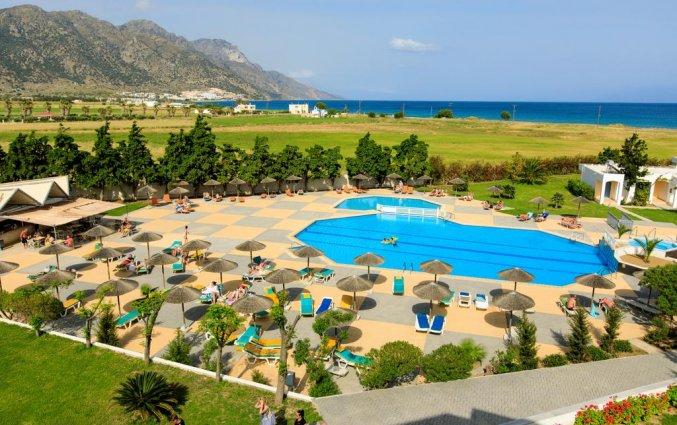 Uitzicht vanaf Hotel Sovereign Beach op Kos