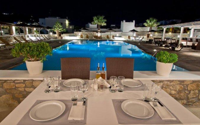 Korting Onvergetelijk Mykonos Hotel Ornos