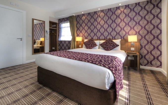 Tweepersoonskamer van Hotel City Continental Kensington in Londen
