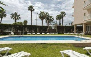 Zwembad van Hotel Soho Boutique Las Vegas in Malaga