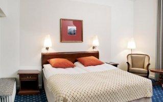 Tweepersoonskamer hotel grand kopenhagen