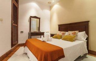 Tweepersoonskamer van Hotel Baco in Sevilla
